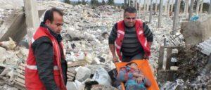 In dem Dorf Cilbire bei Afrin sind elf Zivilisten bei einem Luftschlag der türkischen Armee ums Leben gekommen (Foto: ANF News)