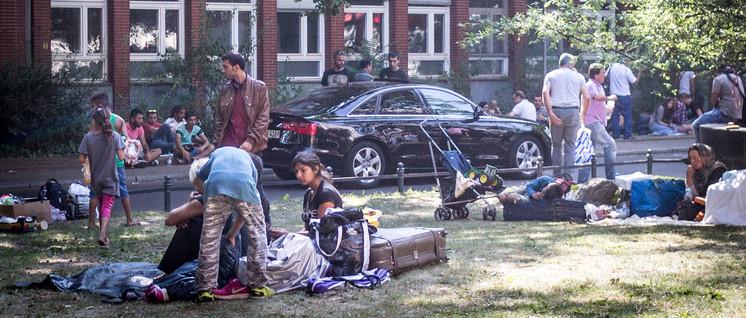 Noch können Flüchtlinge im Freien kampieren. (Foto: Sebaso/flickr.com/CC0 1.)