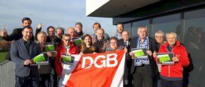 Gewerkschaftsmitglieder aus der DGB-Region Münsterland wollen Sozialticket verteidigen (Foto: DGB Münsterland)
