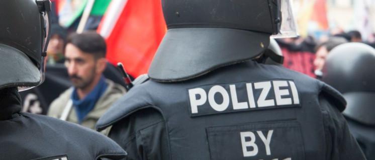 Die Polizei bereitet sich in Bayern für einen möglichen Bürgerkrieg vor (Foto: r-mediabase.eu)