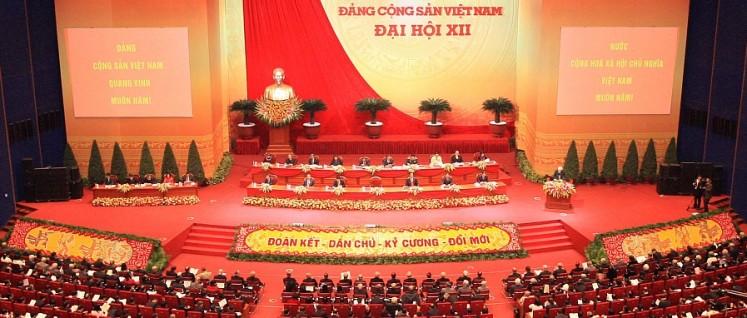 1 zu 3 000: Jeder der 1 500 Delegierten des Parteitages vertritt rund 3 000 Parteimitglieder. (Foto: Kommunistische Partei Vietnams)