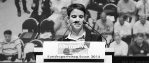 Frauke Petry auf dem Bundesparteitag. Die durch sie repräsentierte Mehrheit der AfD ist durchaus kein homogener Block ... (Foto: Olaf Kosinsky/Skillshare.eu)