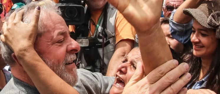 Der ehemalige Präsident Lula während der Kommunalwahlen am 2. Oktober (Foto: Ricardo Stuckert/Instituto Lula)