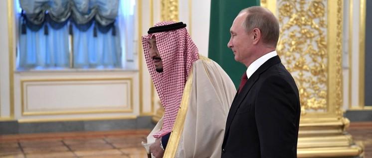 Der saudische König Salman ibn Abd al-Aziz zu Besuch beim russischen Präsidenten Wladimir Putin (5.Oktober 2017) (Foto: Pressedienst des Präsidenten der Russischen Föderation)