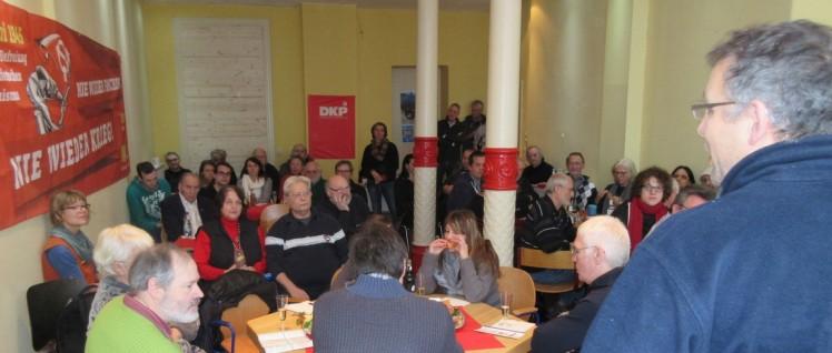 Jahresauftaktveranstaltung der DKP Hamburg (Foto: DKP Hamburg)