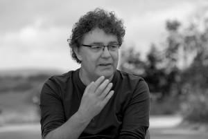 """Patrik Köbele, Vorsitzender der DKP: """"Unser Beitrag im Kampf gegen die AfD""""."""