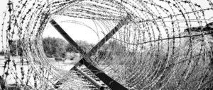 NATO-Stacheldraht auf Zypern. Diese Grenze ist Ergebnis eines Eroberungskrieges des NATO-Staates Türkei, in dessen Ergebnis Zypern 1974 geteilt wurde … Derzeit wird an Ungarns Grenze zu Serbien mit NATO-Stacheldraht ein Zaun gegen Flüchlinge gezogen. (Foto: Dickelbers/wikimedia.org/CC BY-SA 3.0)