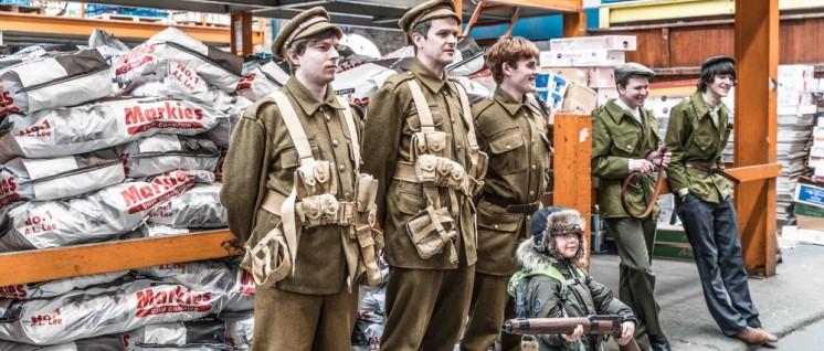Nach den offiziellen Gedenkfeiern der Karneval: Verkleidet in die Uniformen der Kämpfer von damals. (Foto: William Murphy/flickr.com/CC BY-SA 2.0)
