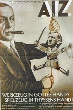 Titelbild der Arbeiter Illustrierten Zeitung von 1933