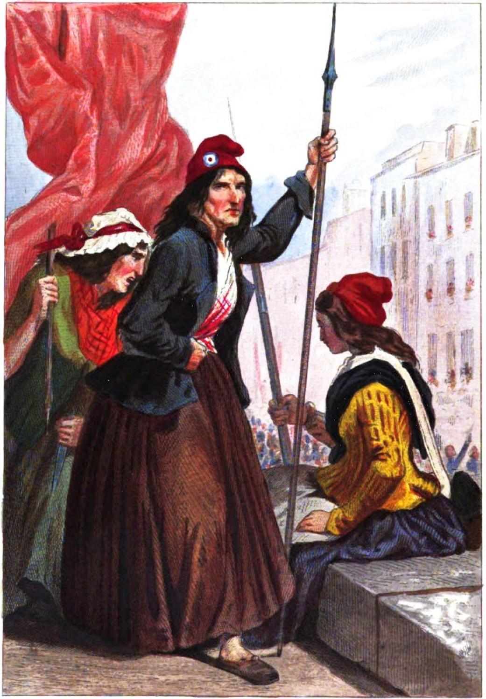 Als das Volk den Terror noch begreift: Jakobinerinnen an der Guillotine.