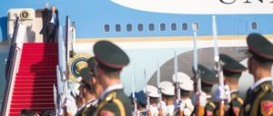 Donald Trump in China: Kommt er oder geht er? (Foto: The White House)