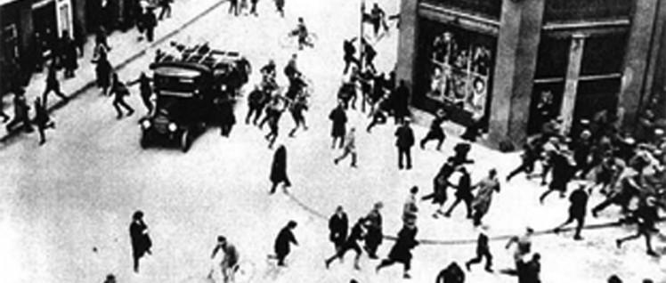 Blutmai 1929: Polizeipräsident Zörgiebel ließ schießen.