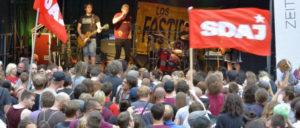 Alle zwei Jahre veanstaltet die SDAJ ihr Festival der Jugend (Foto: Thomas Brenner)