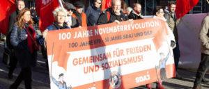 Erst für den Frieden demonstrieren, dann für ihn kandidieren. (Foto: Ulf Stephan/r-mediabase.eu)