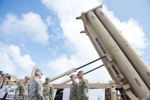 Gegen China gerichtet: Das in Südkorea stationierte US-Raketensystem THAAD.