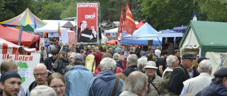19. UZ-Pressefest der DKP in Dortmund (Foto: Tom Brenner)