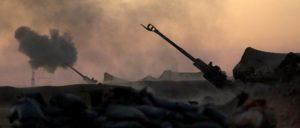 US-Marines beschießen die syrische Stadt Raqqa, um die SDF bei ihrem Vormarsch zu unterstützen. (Foto: United States Marine Corps)
