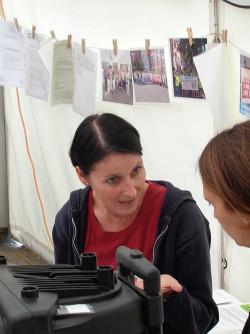 Alexandra Willer ist Mitglied der Streikleitung am Uniklinikum Essen