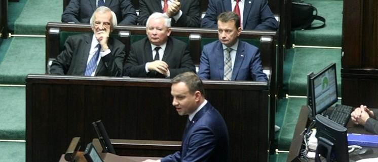 Seine Unterschrift unter das neue Mediengesetz gilt als sicher: Präsident Andrzej Duda (Foto: Piotr Drabik/wikimedia.org/CC BY 2.0)