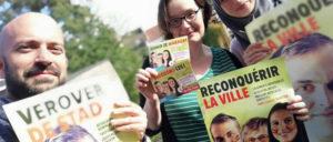 Wahlkämpfer der Partei der Arbeit. (Foto: PTB/PvdA)