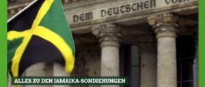 """Zwischenzeitlich: Die Webseite der """"Grünen""""-Partei ist sich sicher, dass die gewünschte Koalition kommen wird."""