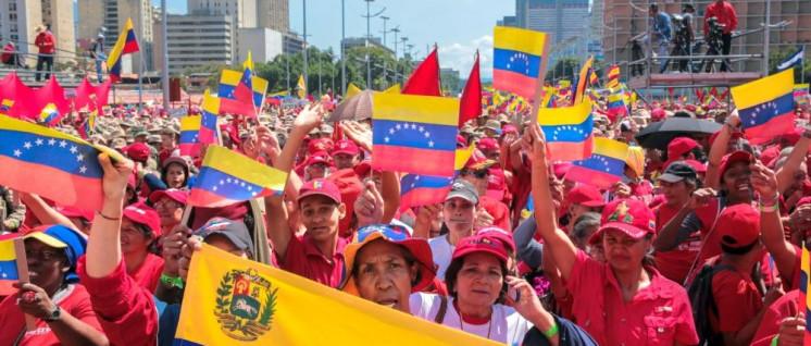 Demonstration zum 20. Jahrestag der Bolivarischen Revolution am vergangenen Samstag in Caracas (Foto: Alba Ciudad 96.3 FM)