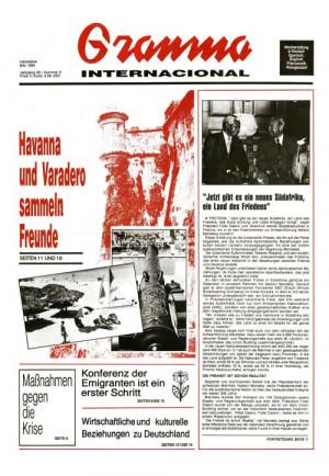 Die Null-Nummer erschien im Mai 1994