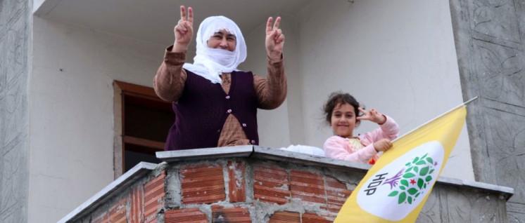 Wahlkampf der HDP in Istanbul, Juni 2018 (Foto: HDP)