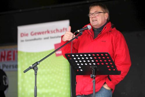 Michael Quetting ist verantwortlicher ver.di-Sekretär in der Region Saar-Trier.