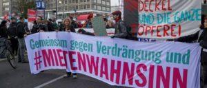 Protest gegen den Mietenwahnsinn in Berlin                          (Foto: Rudi Denner/r-mediabase.eu)