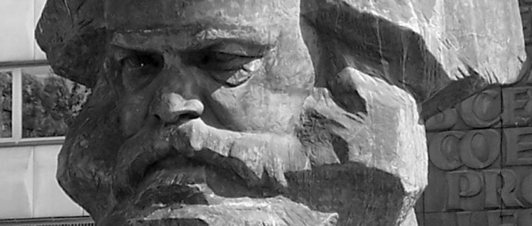 Das Karl-Marx-Denkmal in Chemnitz