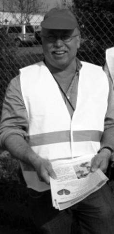 Werner Siebler ist Vorsitzender der ver.di-Betriebsgruppe Brief Freiburg