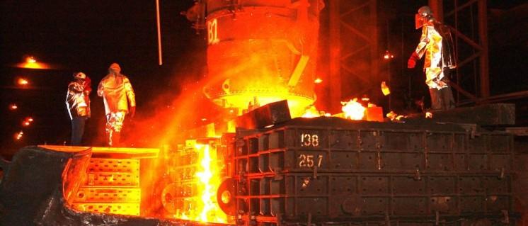 Nachfrage nach Stahl ist reichlich vorhanden. (Foto: public domain)