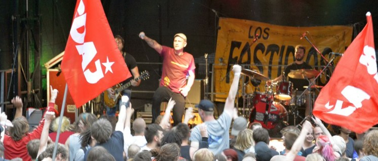 Festival der Jugend 2017: Los Fastidios (Foto: Thomas Brenner)