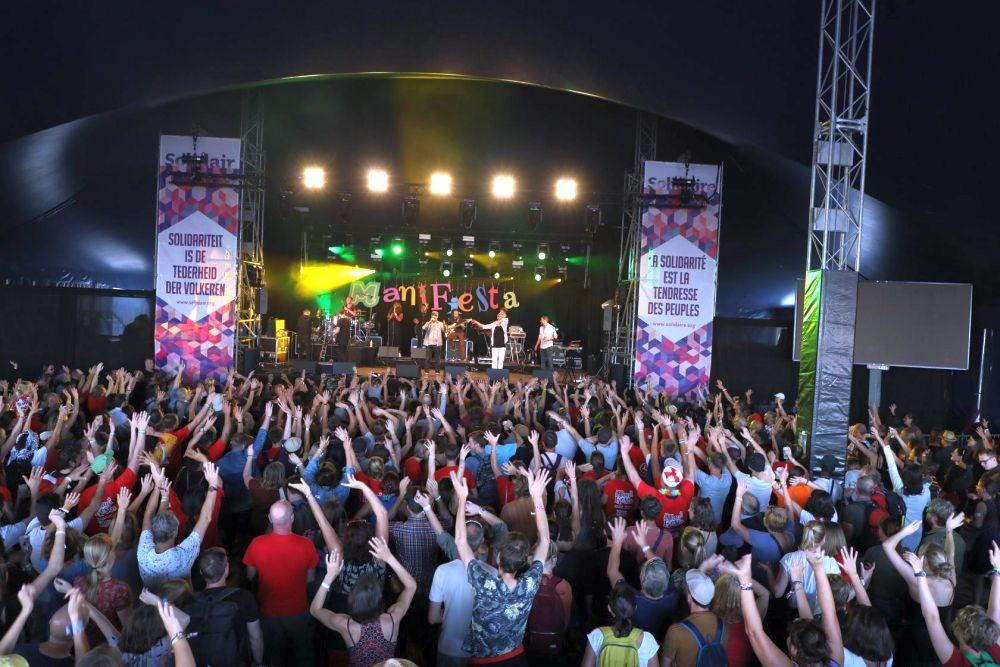 """Tausende Menschen feierten beim """"Fest der Solidarität"""""""