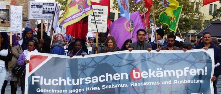 Demonstration in Nürnberg (Foto: Gustl Ballin)