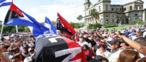 Tausende nahmen an der Trauerfeier für Bismarck Martínez teil. (Foto: Jairo Cajina)