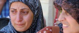 Erfahrung von Flüchtlingsfrauen: Gewalt, Diskriminierung, Ausbeutung und Rassismus (Foto: [url=https://commons.wikimedia.org/wiki/File:South_Lebanon_refugee.jpg]Masser[/url])