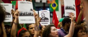 Demonstranten in São Bernardo do Campo (Foto: Midia Ninja)