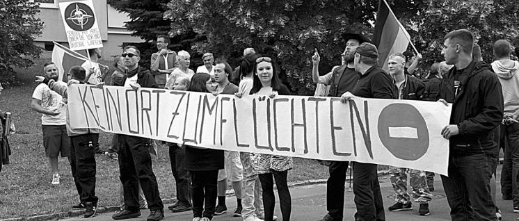 Solidaritätskonzert für die Flüchtlinge in Freital (Foto: Gabriele Senft)