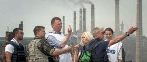 Mit Hilfe der OSZE will sich die EU Zugriff auf die Industriegebiete des Donbass sichern. (Foto: OSCE/Evgeniy Maloletka)