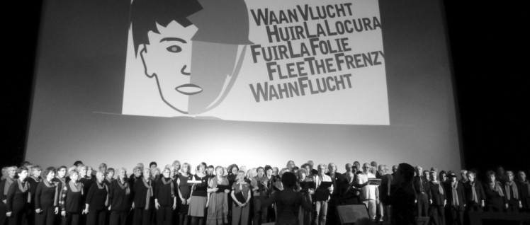 """Zum Abschluss sangen beide Chöre """"Für den Frieden der Welt"""" (KuBa/Schostakowitsch (Foto: Franz)"""