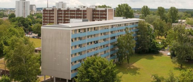 Wohnungen der Vonovia am Nürnberger Planetenring (Foto: Vonovia/Martin Brockhoff)