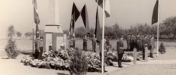 Einweihung des Denkmals 1967