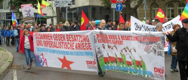 Demonstration in Stuttgart                          (Foto: UZ)