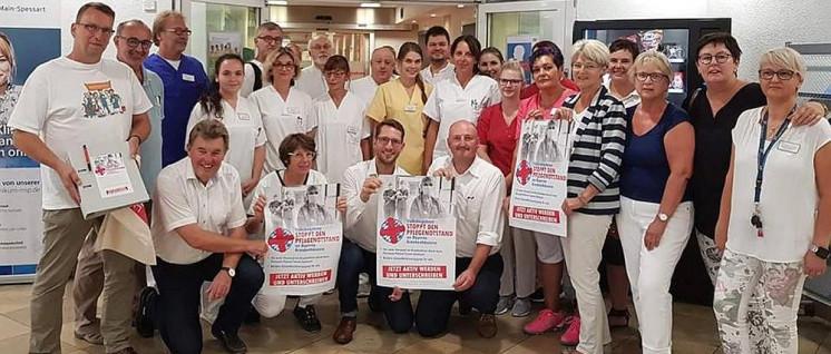 Weit über 100 000 Menschen haben das Volksbegehren unterstützt– im Betrieb und auf der Straße. (Foto: Stoppt den Pflegenotstand an Bayerns Krankenhäusern via facebook)