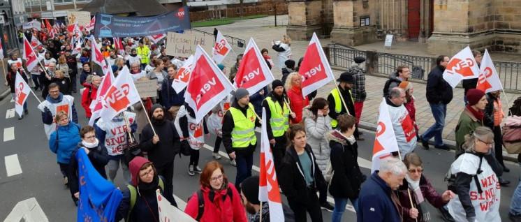 Am 29.März einigten sich die Gewerkschaften im öffentlichen Dienst und das Land Hessen auf einen Tarifvertrag. Dieser entspricht in etwa dem Abschluss für die Landesbediensten aus den Bundesländern, die sich noch in der Tarifgemeinschaft der Länder befin (Foto: Ann-Sofie Gimbert)