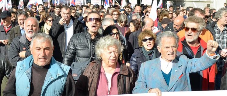 PAME mobilisiert für den Generalstreik am 14.12. (Foto: PAME)