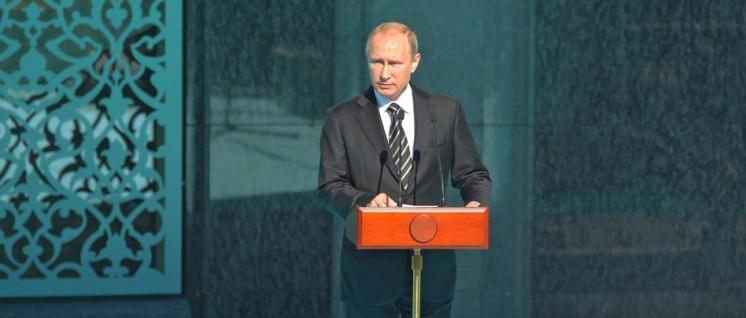 Den Gesprächsfaden nicht abreißen lassen: Der russische Präsident Putin (Foto: kremlin.ru)