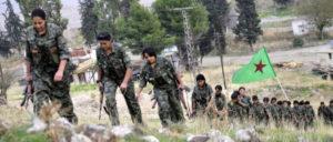 """Abzug aus Manbidsch – die YPG soll durch """"lokale Kräfte"""" ersetzt werden. (Foto: Kurdishstruggle)"""